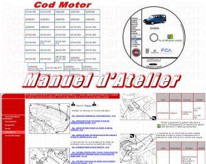 Manuel Atelier Revue Technique Fiat Doblò