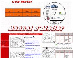 Manuel Atelier Revue Technique FIAT DUCATO X 244