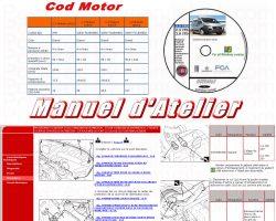 Manuel Atelier Revue Technique FIAT DUCATO X 250