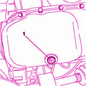 Smontaggio tappo scarico olio motore Fiat 500 1.3 Mjet