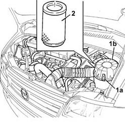 scatola filtro aria Fiat Ducato x244 jtd 2300 16v