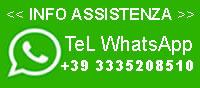 Scrivici o Telefona con Whatsapp