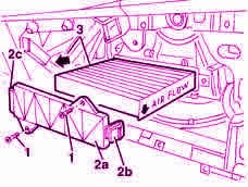 sostituire filtro antipolline abitacolo Lancia Ypsilon