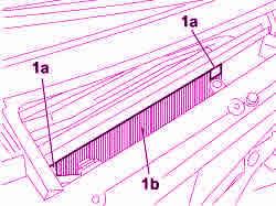 sostituzione filtro antipolline abitacolo Fiat Croma