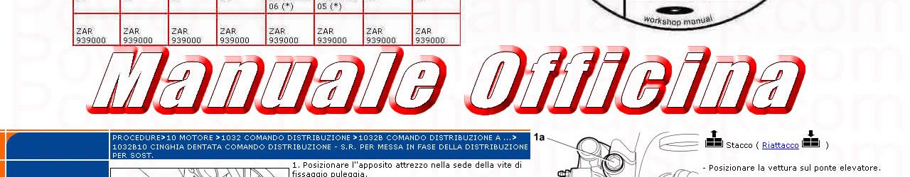 Manuale officina manutenzione ALFA ROMEO 159