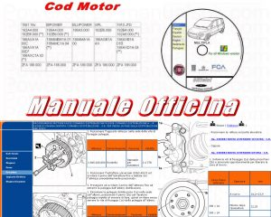 Manuale officina Fiat Multipla 1 serie 186