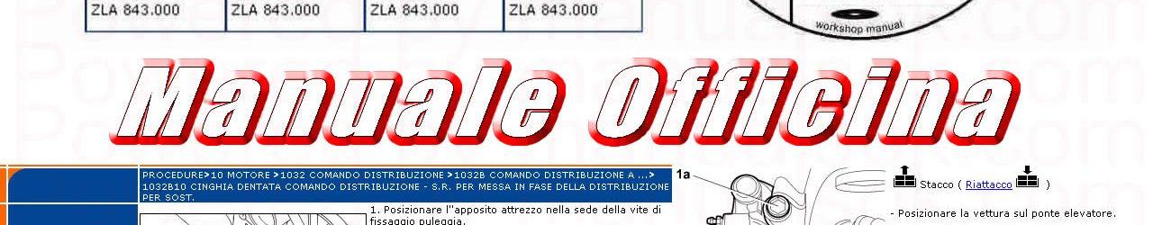 Manuale officina riparazione Lancia Ypsilon