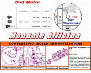 manuale officina Fiat Cinquecento 170 pdf