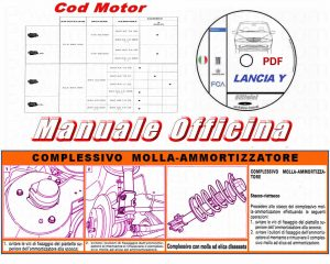manuale officina Lancia y in pdf